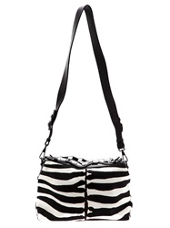 Boyy Zebra Print Bag Black