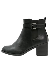Evans Ana Ankle Boots Black