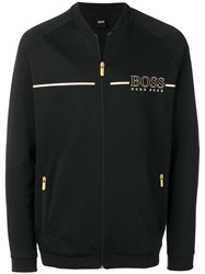 Hugo Boss Zipped Sweatshirt Black