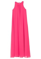 Mango Dream Maxi Dress Fuchsia Pink
