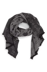 The Kooples Men's 'Skullhead' Wool And Cashmere Scarf
