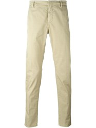 Dondup 'Gaubert' Chinos Nude And Neutrals