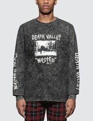 Wasted Paris Death Valley L S T Shirt Black