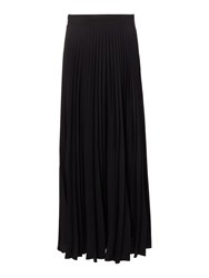Linea Pleated Maxi Skirt Black