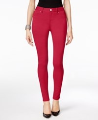 Inc International Concepts Curvy Fit Skinny Pants Only At Macy's Glamorous Red