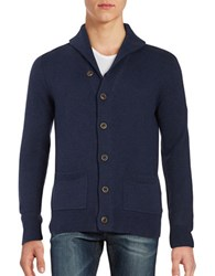 Black Brown Shawl Collar Cardigan Winter Navy