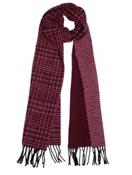 Dents Women S Dogtooth Scarf Red