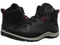 Ecco Sport Aspina Mid Gtx Black Lace Up Casual Shoes