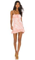 Privacy Please Ensenada Mini Dress In Pink. Pink And White