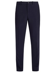Connolly Mid Rise Straight Leg Trousers Navy