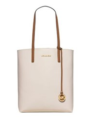 Michael Michael Kors Hayley Large Two Tone Faux Leather Tote