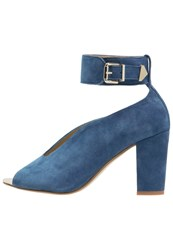 Gardenia Coltina Peep Toes Jeans Blue
