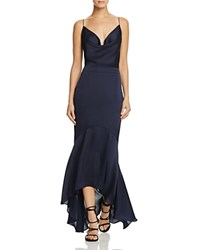 Jarlo Cowl Neck Gown Navy