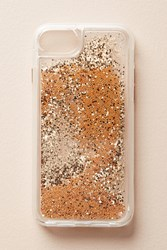 Anthropologie Casetify Glitterbug Iphone 6 7 Case Gold