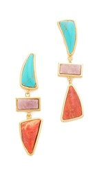 Lizzie Fortunato Santa Fe Ii Earrings Multi