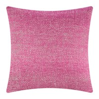 Amara Herringbone Cushion 60X60cm Pink