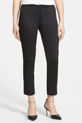 Nydj Stretch Skinny Ankle Pants Regular And Petite Black