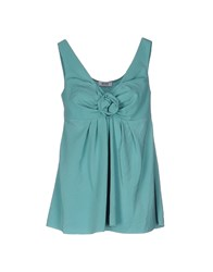 Moschino Cheap And Chic Tops Green