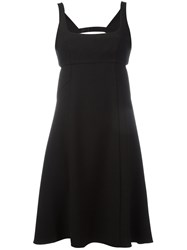 Alexander Wang T By Square Neck Dress Black