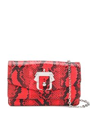 Paula Cademartori Lou Lou Savage Bag Red