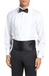 Nordstrom Shop Silk Cummerbund And Bow Tie Set Black