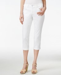Vintage America Boho Cropped Jeans Only At Macy's White