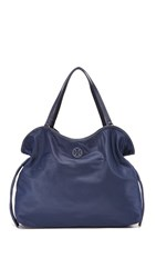 Tory Burch Scout Nylon Tote Tory Navy