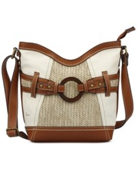 B.O.C. Nayarit Straw Crossbody Bone