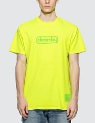 Denim By Vanquish And Fragment Delivery Slip T Shirt Yellow