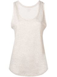 Majestic Filatures Tank Top Nude And Neutrals