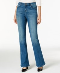Styleandco. Style And Co. Slim Fit Bijou Wash Flare Leg Jeans Only At Macy's