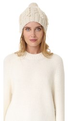 M.Patmos Nellie Cable Hat Ivory
