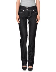Escada Sport Denim Denim Trousers Women Black
