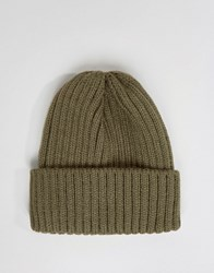 Systvm Mini Fisherman Beanie Hat Green