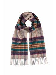 Johnstons Of Elgin Cashmere Scarf Neutral