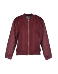 Paul And Joe Sister Jackets Maroon