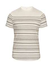 Orlebar Brown Isaac Cotton T Shirt White Multi