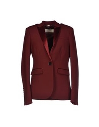Burberry London Blazers Maroon