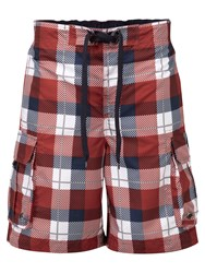 Tog 24 Tonga Drawstring Board Shorts Red