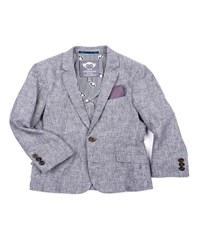 Appaman Boys' Cotton Stretch Blazer Red Size 2 14