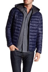 Kenneth Cole Packable Jacket Blue