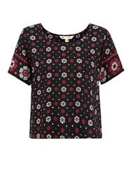 Yumi The Forget Me Not Top Black