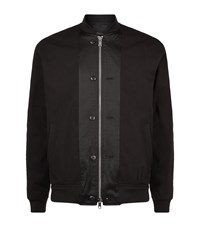 3.1 Phillip Lim Button Detail Bomber Jacket Male Black