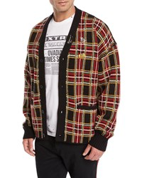 Ovadia And Sons Plaid Wool Cardigan Multi