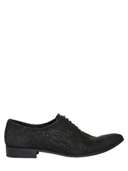 Haider Ackermann Leather Oxford Lace Up Shoes