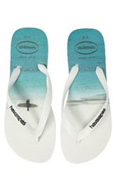 Havaianas Men's 'Hype' Flip Flop White White Black