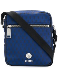 Versus Cross Body Messenger Bag Blue