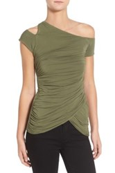 Bailey 44 Table Mountain Asymmetrical Shirt Green