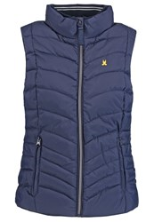 Gaastra Hanbury Point Waistcoat Navy Dark Blue