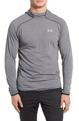 Under Armour Men's Streaker Running Hoodie Carbon Heather